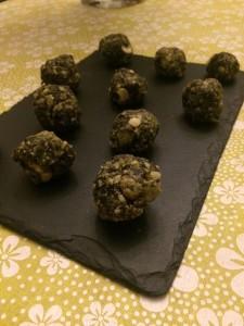 cacao and himalayan salt balls