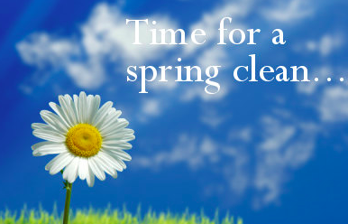 spring clean your mind.