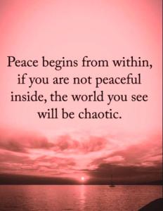 A Peaceful Life